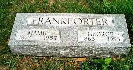 GARDNER FRANKFORTER, MAMIE - Carroll County, Iowa | MAMIE GARDNER FRANKFORTER