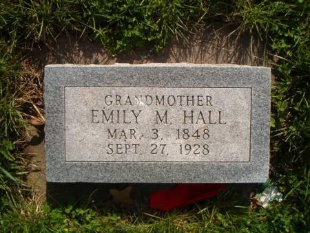 HALL, EMILY M - Cass County, Iowa   EMILY M HALL