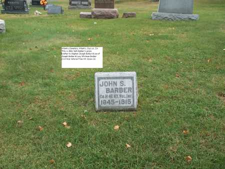 BARBER, JOHN - Cass County, Iowa | JOHN BARBER