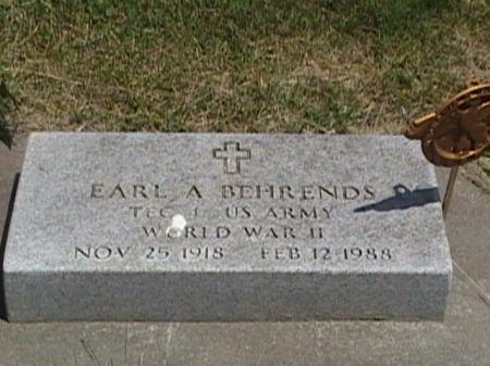 BEHRENDS, EARL A. - Cass County, Iowa   EARL A. BEHRENDS