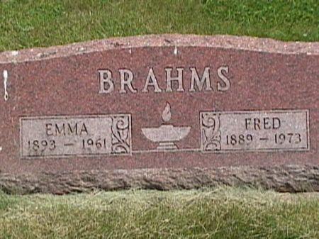 BRAHMS, FRED JOHN - Cass County, Iowa | FRED JOHN BRAHMS