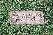 TEFFT CARPENTER, SUSAN JANE - Cass County, Iowa | SUSAN JANE TEFFT CARPENTER