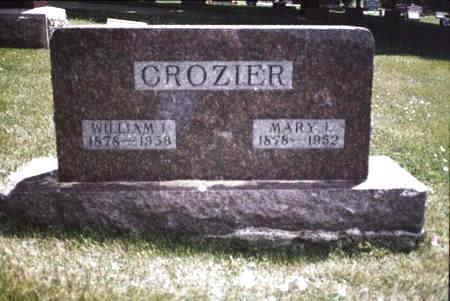 CROZIER, WILLIAM I - Cass County, Iowa | WILLIAM I CROZIER