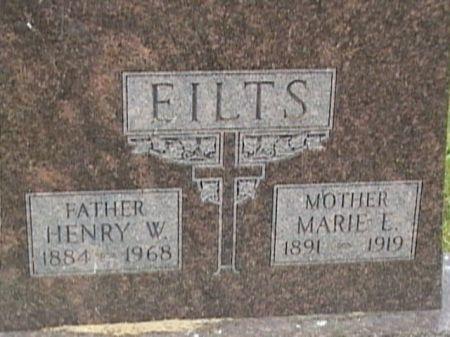 EILTS, MARIE E. - Cass County, Iowa   MARIE E. EILTS