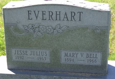 BELL EVERHART, MARY VICTORIA - Cass County, Iowa | MARY VICTORIA BELL EVERHART
