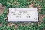 GREEN, MAUDE - Cass County, Iowa | MAUDE GREEN