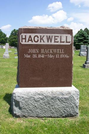 HACKWELL, JOHN - Cass County, Iowa | JOHN HACKWELL