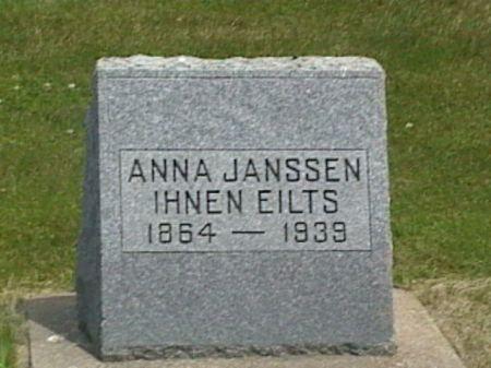 JANSSEN IHNEN EILTS, ANNA - Cass County, Iowa | ANNA JANSSEN IHNEN EILTS