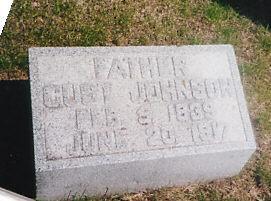 JOHNSON, GUST - Cass County, Iowa | GUST JOHNSON