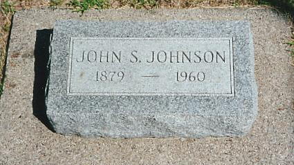 JOHNSON, JOHN S. - Cass County, Iowa | JOHN S. JOHNSON
