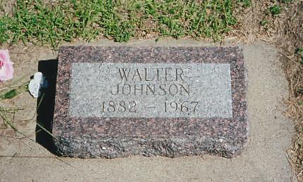 JOHNSON, WALTER - Cass County, Iowa | WALTER JOHNSON