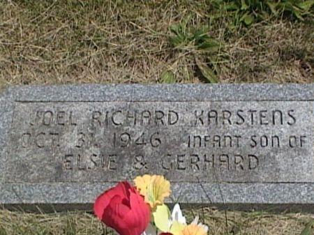KARSTENS, JOEL RICHARD - Cass County, Iowa | JOEL RICHARD KARSTENS
