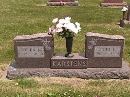 KARSTENS, JOHN GERHARD - Cass County, Iowa | JOHN GERHARD KARSTENS