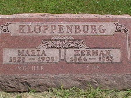 KLOPPENBURG, HERMAN - Cass County, Iowa | HERMAN KLOPPENBURG
