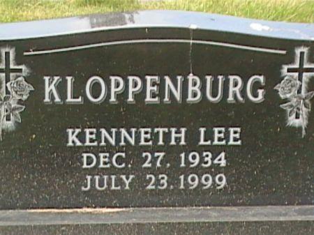 KLOPPENBURG, KENNETH LEE - Cass County, Iowa | KENNETH LEE KLOPPENBURG