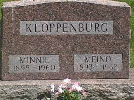 HIGGEN KLOPPENBURG, MINNIE - Cass County, Iowa | MINNIE HIGGEN KLOPPENBURG