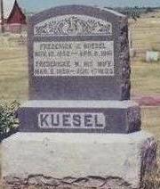 KUESEL, FREDERICKE - Cass County, Iowa | FREDERICKE KUESEL