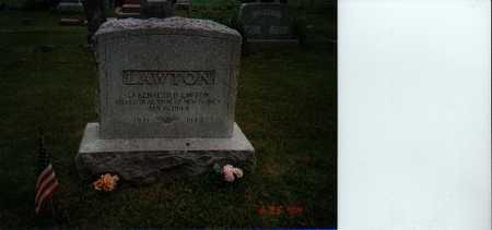 LAWTON, KENNETH B. - Cass County, Iowa | KENNETH B. LAWTON
