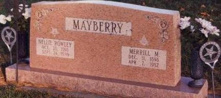MAYBERRY, MERRIL MARCELLAS - Cass County, Iowa | MERRIL MARCELLAS MAYBERRY