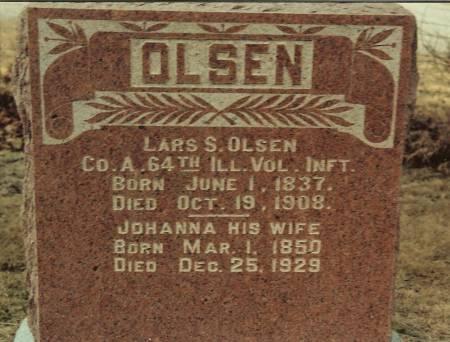 OLSEN, JOHANNA - Cass County, Iowa | JOHANNA OLSEN