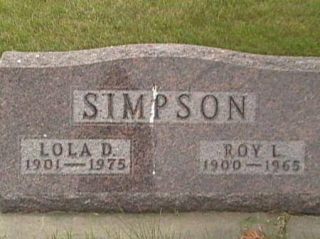 MILTON SIMPSON, LOLA DAISY - Cass County, Iowa | LOLA DAISY MILTON SIMPSON