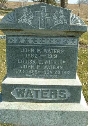 WATERS, JOHN P. - Cass County, Iowa | JOHN P. WATERS