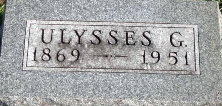 WEAVER, ULYSSES G. - Cass County, Iowa | ULYSSES G. WEAVER
