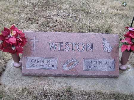 WESTON, CAROLINE - Cass County, Iowa | CAROLINE WESTON