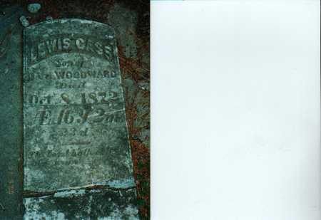 WOODWARD, LEWIS CASS - Cass County, Iowa | LEWIS CASS WOODWARD