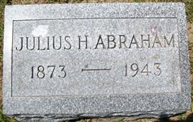 ABRAHAM, JULIUS H. - Cedar County, Iowa   JULIUS H. ABRAHAM