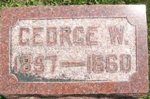 ADAMS, GEORGE W. - Cedar County, Iowa | GEORGE W. ADAMS