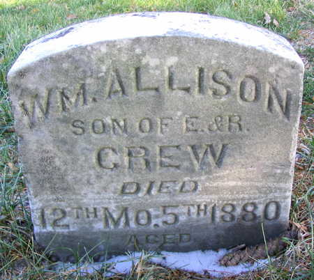 CREW, WILLIAM ALLISON - Cedar County, Iowa | WILLIAM ALLISON CREW
