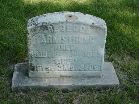 ARMSTRONG, REBECCA - Cedar County, Iowa | REBECCA ARMSTRONG