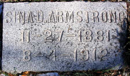 ARMSTRONG, SINA D. - Cedar County, Iowa | SINA D. ARMSTRONG