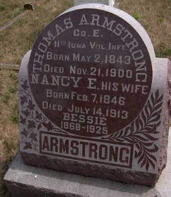 ARMSTRONG, THOMAS - Cedar County, Iowa | THOMAS ARMSTRONG