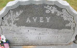 AVEY, DENNIS W. - Cedar County, Iowa | DENNIS W. AVEY