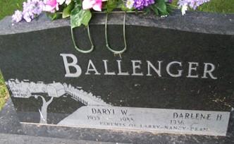 BALLENGER, DARYL W. - Cedar County, Iowa | DARYL W. BALLENGER