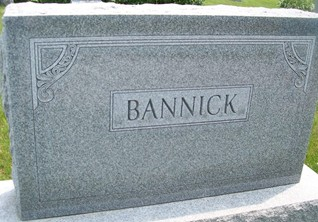 BANNICK, FAMILY MONUMENT - Cedar County, Iowa | FAMILY MONUMENT BANNICK