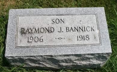 BANNICK, RAYMOND J. - Cedar County, Iowa   RAYMOND J. BANNICK