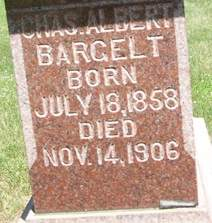 BARGELT, CHARLES ALBERT - Cedar County, Iowa | CHARLES ALBERT BARGELT
