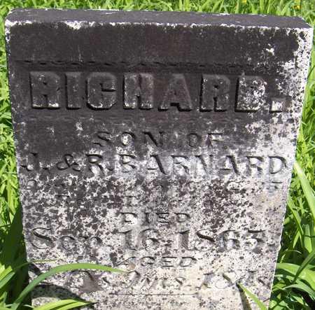 BARNARD, RICHARD - Cedar County, Iowa | RICHARD BARNARD