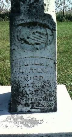 BATES, GEORGE F. - Cedar County, Iowa | GEORGE F. BATES