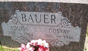 BAUER, LOUISE - Cedar County, Iowa | LOUISE BAUER