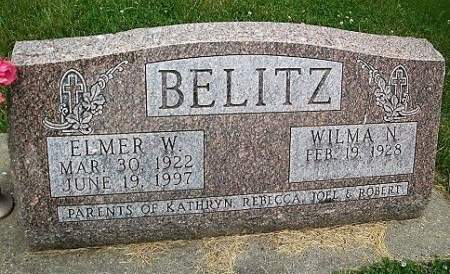 BELITZ, ELMER WILLIAM - Cedar County, Iowa | ELMER WILLIAM BELITZ