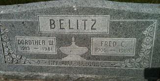 BELITZ, DOROTHEA W. - Cedar County, Iowa | DOROTHEA W. BELITZ