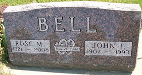 BELL, ROSE MARY - Cedar County, Iowa | ROSE MARY BELL