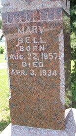 BELL, MARY - Cedar County, Iowa | MARY BELL
