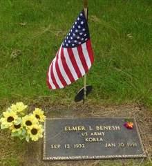BENESH, ELMER - Cedar County, Iowa | ELMER BENESH