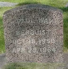 BERQUIST, PAUL WAY - Cedar County, Iowa | PAUL WAY BERQUIST