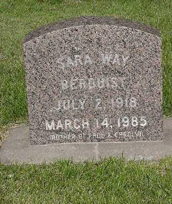 WAY BERQUIST, SARAH - Cedar County, Iowa | SARAH WAY BERQUIST